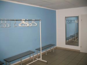 Umkleiderraum für Damen